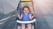 This simple buggy mistake could give your child heat stroke