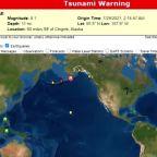 Huge quake triggers Alaska tsunami warnings