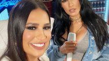 """Em live, Simone e Simaria dizem que """"pegariam"""" Paolla Oliveira: """"Gostosa"""""""