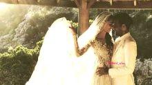 El vestido de novia de Joana Sanz en su boda con Dani Alves