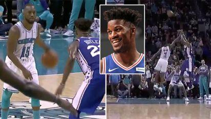 Jimmy Butler spoils NBA star's monster 60-point haul