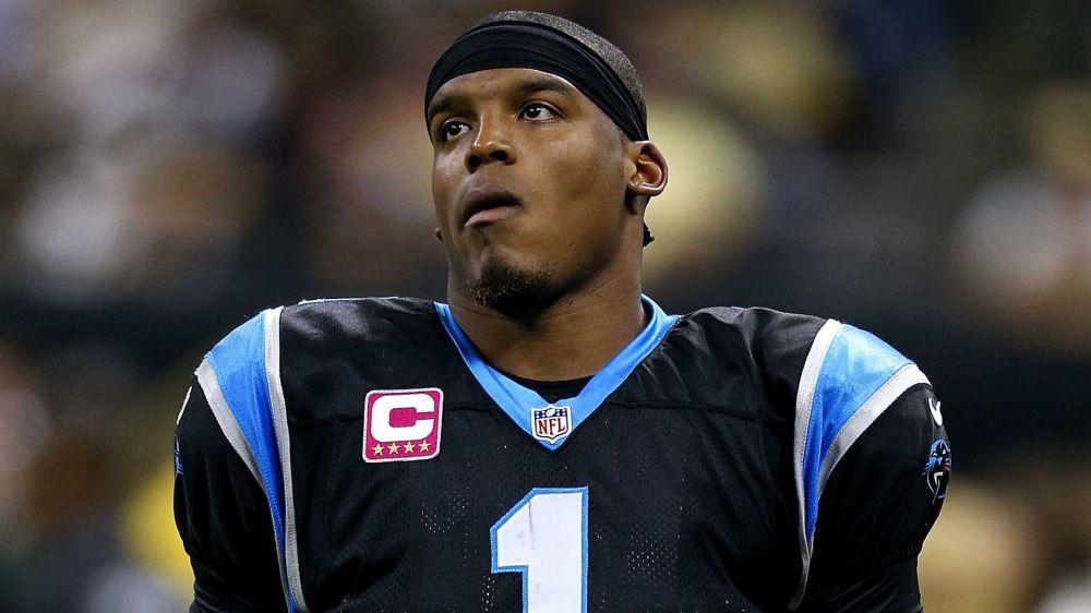 Panthers' Cam Newton played through shoulder injury to 'set a good standard'