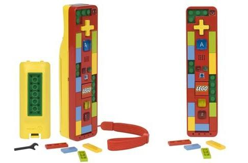 Power A constructs the Lego Play and Build Wii Remote