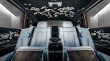 Rolls-Royce Rose Phantom: Luxus mit aufwendigen Rosen-Stickereien