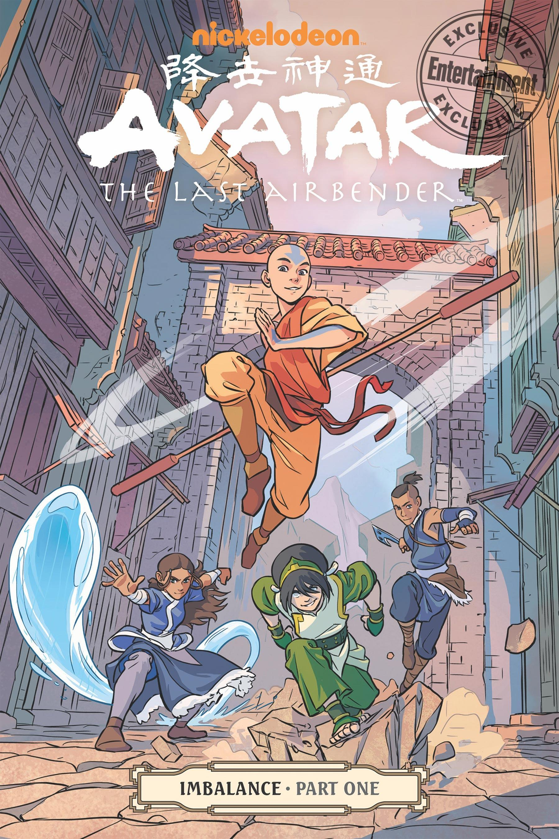 Team Aang gets a chilly reception in Avatar: The Last