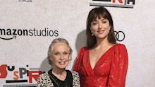 Dakota Johnson escorts her 88-year-old grandmother Tippi Hedren to 'Suspiria's LA premiere