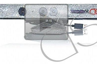 Finally, a Kinect smothered in Swarovski crystals