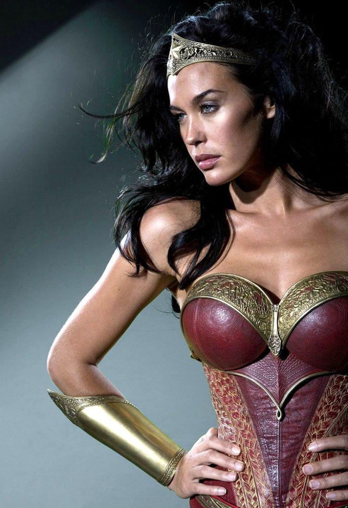 Megan Gale as Wonder Woman
