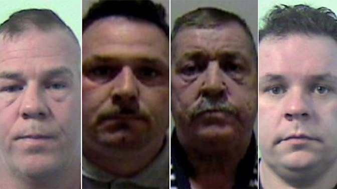 Brutal slavery gang abused workers for decades