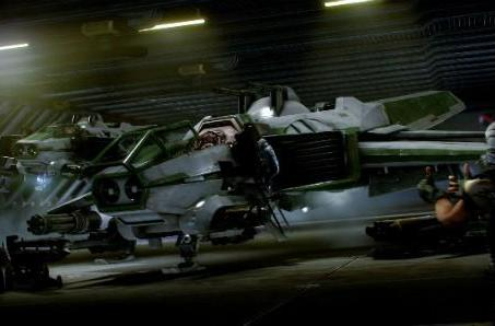 Star Citizen to deliver first content, hangars, to Kickstarter backers