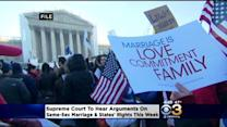 Supreme Court Set To Hear Arguments On Same-Sex Marriage