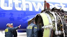 Investigators are probing fractures in a blade in Southwest engine failure