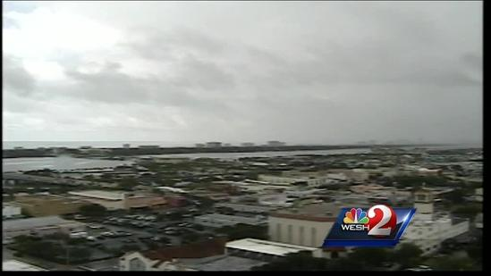 Storms to move across central Fla.