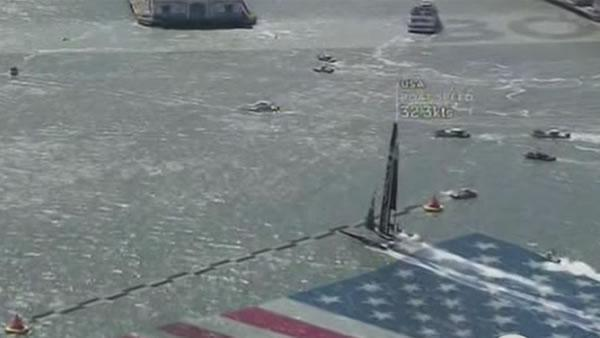 Oracle Team USA wins after historic comeback