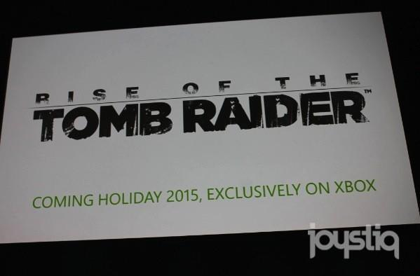Rise of the Tomb Raider is exclusive to Xbox [Update: Trailer added!]