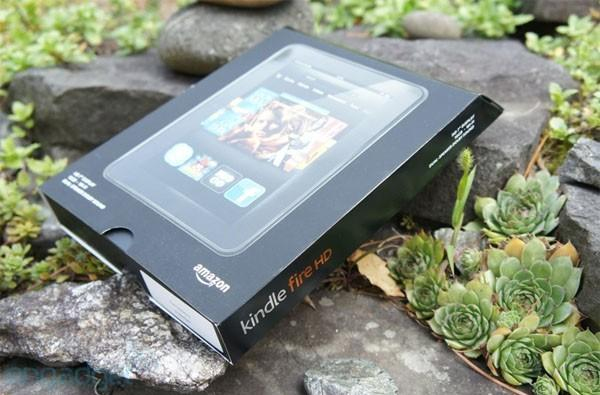PSA: Amazon's Kindle Fire HD 7, new Fire and Reader now stocked
