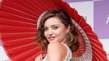Miranda Kerr 'Turning Japanese' con su print floral