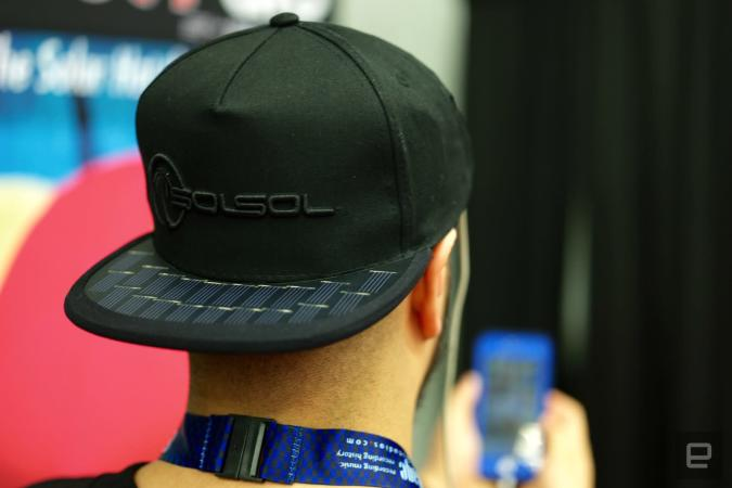 SolSol's baseball hat can charge your phone using solar power