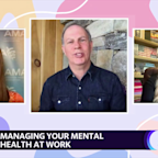 Mindy Grossman WW International CEO and Dr. Patrice Harris the President of the American Medical Association join Yahoo's Reset Your Mindset at Work special