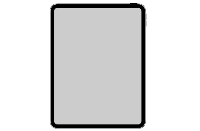 iOS icon provides clearest look yet at iPad Pro with Face ID