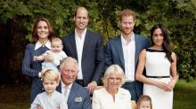 Kate, Meghan and Louis among royals pictured in new family photos for Charles' 70th