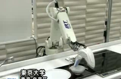 KAR robot arm does the dishes, sort of