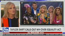 Kellyanne Conway uses Taylor Swift's lyrics against her to shut down Equality Act