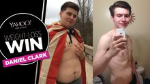 A simple change in diet helped this man lose 160 pounds