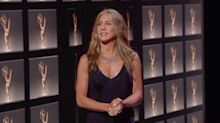 Jennifer Aniston Has Been Wearing This One Sexy Wardrobe Staple to Award Shows for Years