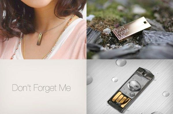 Cowon's UM1 thumb drive for lovers, stalkers