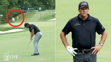 Phil Mickelson stuns golf world with putt from 78 yards