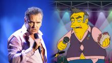 Morrissey blasts 'The Simpsons' for 'harshly hateful' and 'hypocritical' parody