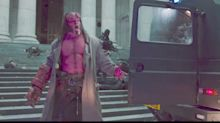 Hellboy smashes up London in reboot's first-look trailer