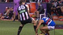 'Clumsy' Cox escapes with fine over high bump