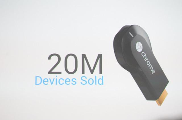 Chromecast adds video from Sling TV, NBA and more