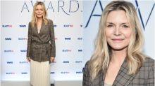 Michelle Pfeiffer, casi irreconocible en los WWD Beauty Inc Awards 2019
