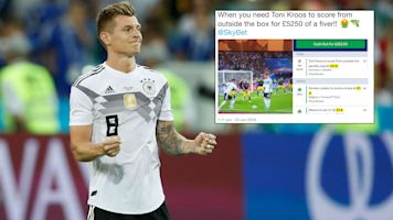 How Kroos' free-kick routine cost punter £5k