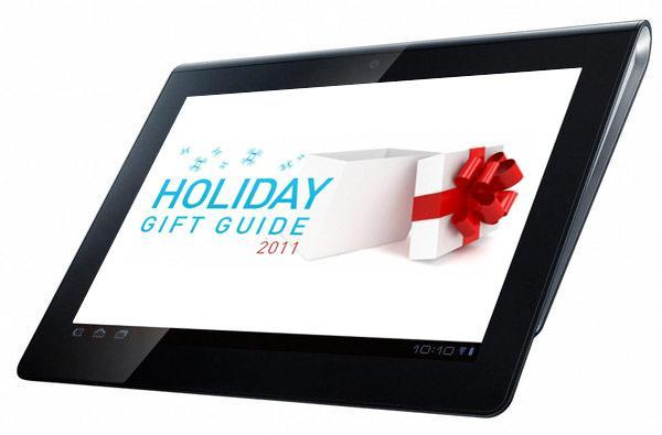 Engadget's holiday gift guide 2011: tablets