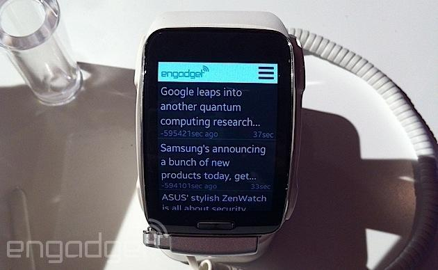 The Samsung Gear S' real killer app is Engadget