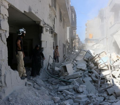 Clashes in Syria's Aleppo as Russia opens aid 'windows'