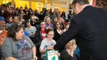 The Latest: Alec Baldwin campaigns for Virginia Democrats