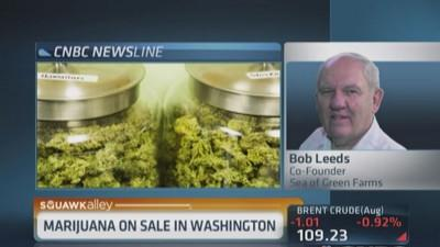 Washington weed on sale