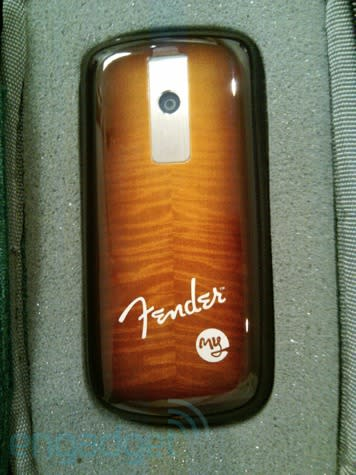 T-Mobile Fender MyTouch 3G in the wild, due for launch January 20
