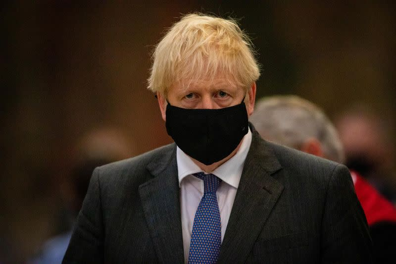 British PM Johnson to Urge Citizens to Go Back to Working from Home