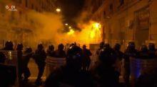 Covid: monta in strada protesta contro coprifuoco a Napoli