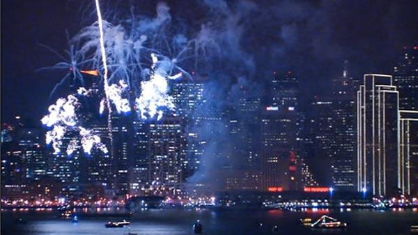 SF rings in New Year with fireworks and violence