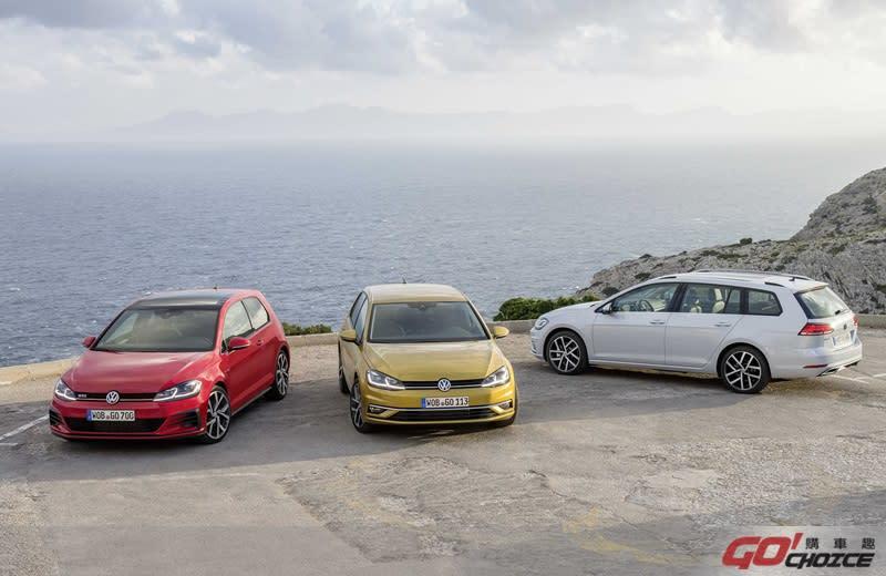 現購Golf家族車款指定車型,即享首年月付5,999元含第5年保固等多元購車優惠。