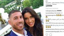 Sergio Ramos y Pilar Rubio anuncian su compromiso matrimonial