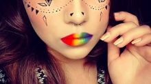 Beauty bloggers remember Orlando victims with rainbow-inspired looks