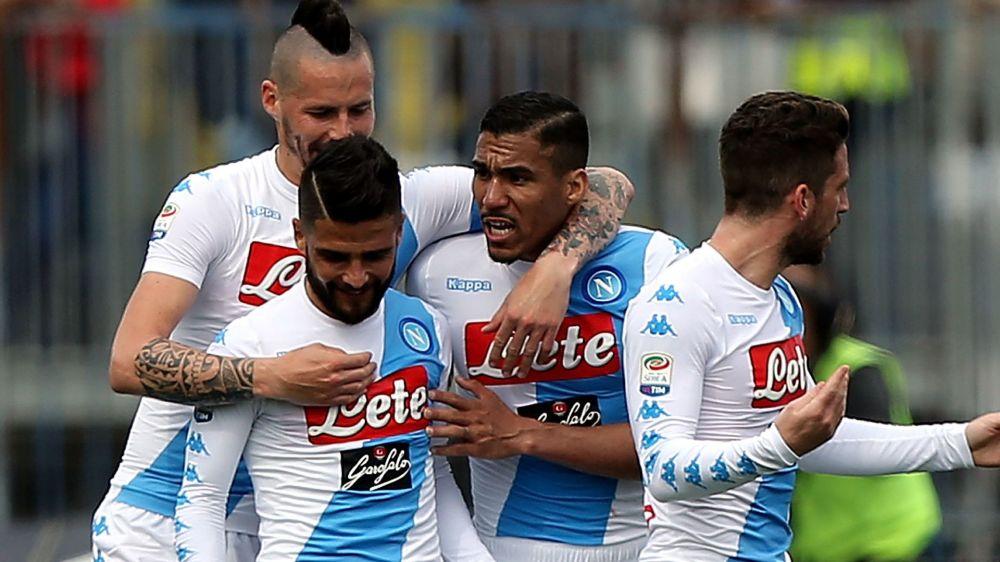 Empoli - Naples 2-3, Naples s'est fait peur